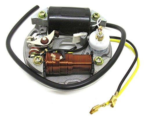 Lichtmaschine Zündung 6 Volt 15 Watt Mofa Moped
