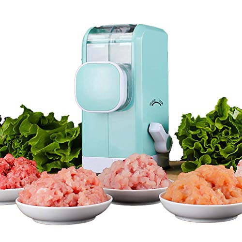Da-upup Multifunktions-Fleischwolf, Gemüsehacker Haushaltsfleisch Gemüsefleisch Min Küchenmaschine Edelstahlplatte, leistungsstarke Saugbasis, schnell und mühelos für Nussplätzchen