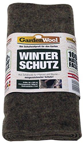 Winterschutzmatte Schafwolle 50x200 cm