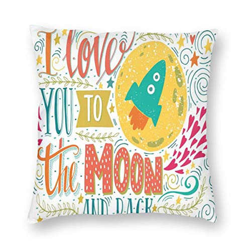 niBBuns Pillow Covers I Love You to…