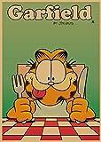 LDTSWES® Rompecabezas, Rompecabezas de Madera Garfield Cartoon, para Regalo Infantil Decoración del hogar Puzzle 1000 Piezas