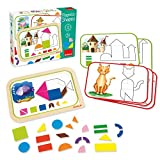 Goula D51353 Shapes And Figures Magnetic Activity Game