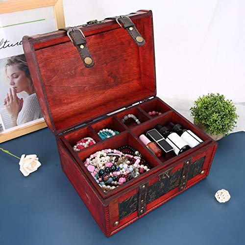 Caja de almacenamiento de la manija del cuero de la PU de la caja de almacenamiento de la joyería, para los apoyos de la fotografía