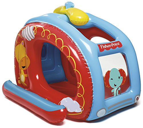 Bestway 93502 - Piscina de Bolas Hinchable Fisher Price Helicóptero