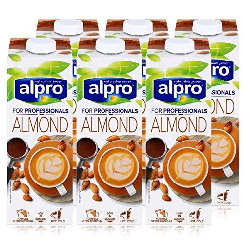 Alpro for professionals Almond 1L - Mandeldrink angereichert mit Calcium (6er Pack)