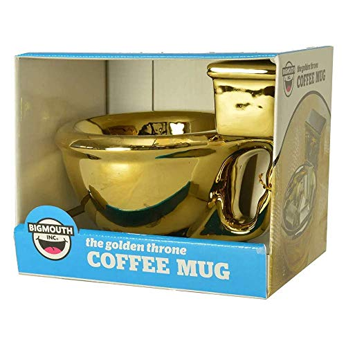 Golden Toilet Coffee Mug