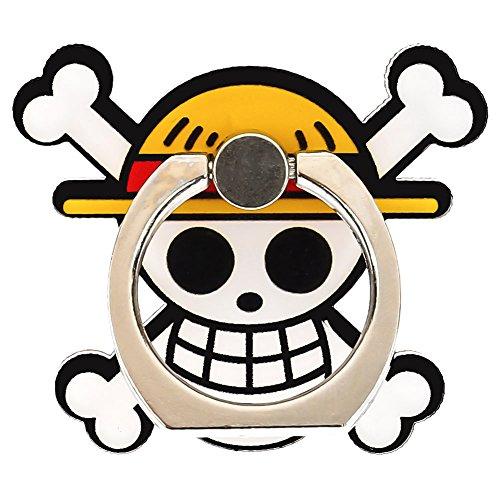Yovvin One Piece Soporte para telfono mvil Finger Ring 360 Kickstand Smartphone Soporte Anillo & soporte para iPhone, iPad, Samsung, HTC, Nokia Smartphones, y Tablet