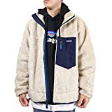 patagonia(パタゴニア) 2020 メンズ クラシック レトロX ジャケット Men's Classic Retro-X Fleece Jacket 23056 フリースジャケット (Natural (NAT), M) [並行輸入品]