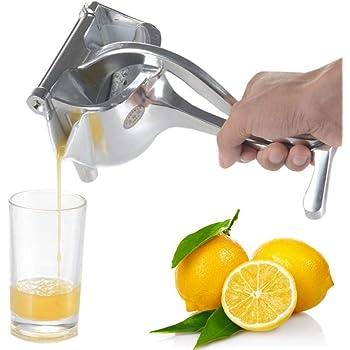 Exprimidor Manual, Exprimidor de aleación de aluminio, Exprimidor Manual de Cítricos, Extractor de Exprimidor de Frutas Para Naranjas/Sandía/Limón/Manzana: Amazon.es: Hogar