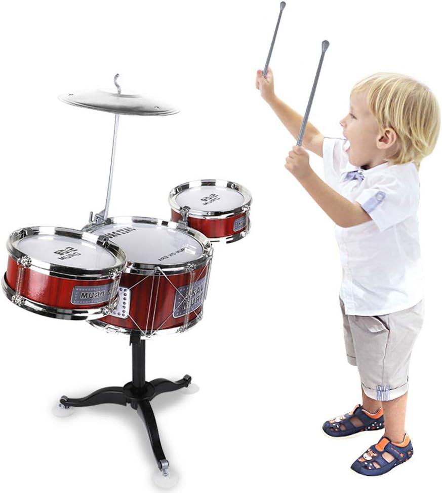 Toddler Kids Drum and Cymbal Music Set Preschool Developmental Toy