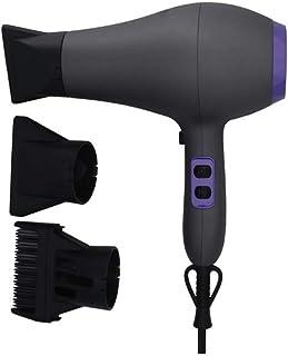 GUBTY Secadores de pelo para hombres y mujeres 220 V Indicador de luz de potencia/Bajo ruido/Diseño de mano/Luz y conveniente, Púrpura