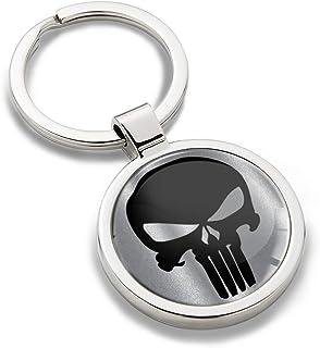 1.08€//1st 6x Schlüsselanhänger Totenkopf Skull Anhänger Calaveras Tombola