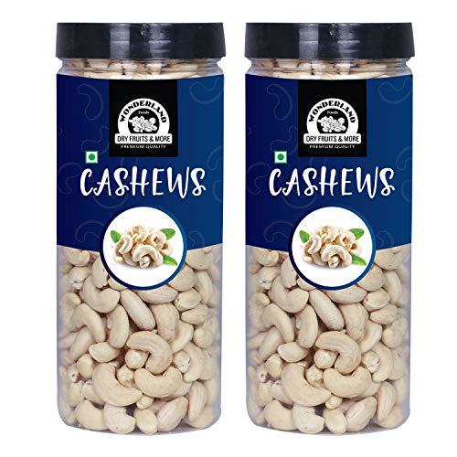 WONDERLAND FOODS Plain Raw Cashews (1 Kg)