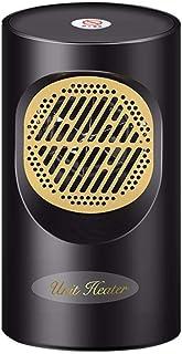 MXJEEIO Calefactor Eléctrico Portátil Calentador Calefactor de Aire Caliente Termoventiladores de Ventilador Calentador de Cerámica de PTC para Hogar y Oficina Protección del Sobrecalentamiento (A)