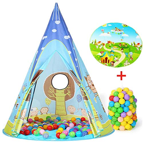 YDHWY Children's Tent - For Indoor And Outdoor Fun, Imaginative Games & Gift Foldable Playhouse Toy