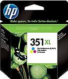 HP 351 XL CB338EE, Cartuccia Originale, da 580 Pagine, Compatibile con Stampanti a Getto di Inchiostro HP Deskjet D4260, D4300, Photosmart C5280, C4200, Officejet J5780, J5730, Tricromia