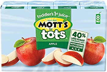 32-Count Mott's For Tots Apple, 6.75 Fluid Ounce