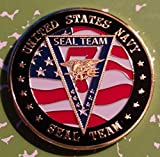 Navy Seal Team Seven Military Challenge Art Coin