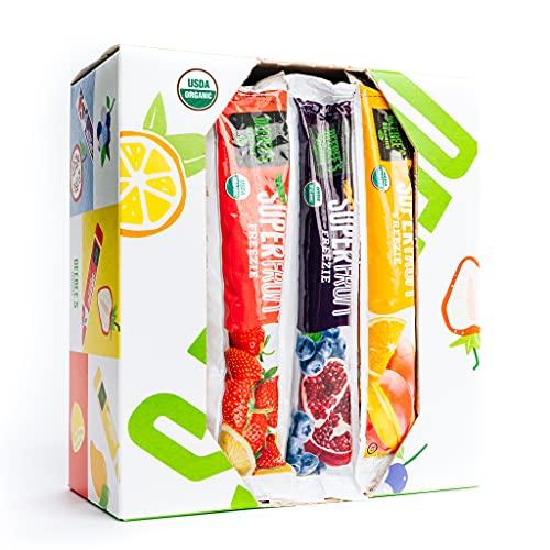 DeeBee's Organics SuperFruit Freezie 30 Pack (100% Juice Freezer Pop)