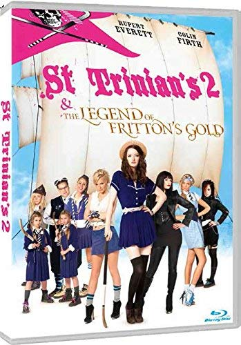St Trinian's 2: The Legend of Fritton's Gold (2009) ( St Trinian's Two: The Legend of Fritton's Gold ) ( St Trinian's II: The Legend of Frit [ Origen Italiano, Ningun Idioma Espanol ] (Blu-Ray)