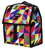 PackIt Freezable Lunch Bag with Zip Closure, Paradise Graphix