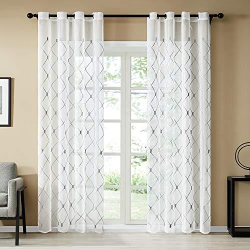 cortinas salon lino