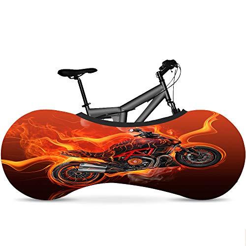 Bicicleta Cubierta - Serie Llama - Elástico Tela Suciedad Proof - Bicicleta Bolsa De Almacenamiento De Lucha contra La Cubierta Protectora para La Montaña Bicyle,C