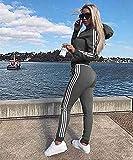 Immagine 1 tuta donna sportiva abbigliamento felpa