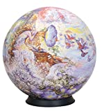 Esphera 360 9' 540 Pieces Sphere Art: Wall's 'Queen of the Night' by Mega Brands