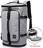 KAKA Travel Duffel Backpack, Gym Backpack Outdoor Travel Bag with Shoe Compartment, Weekender...