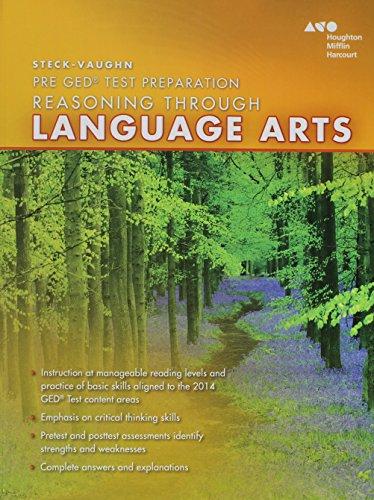 Steck Vaughn Pre Ged 2014 Reasoning Through Language Arts Reading