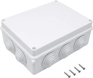 IP65 Waterproof Dustproof Junction Box, ABS Plastic Universal Electrical Project Enclosure, 7.9