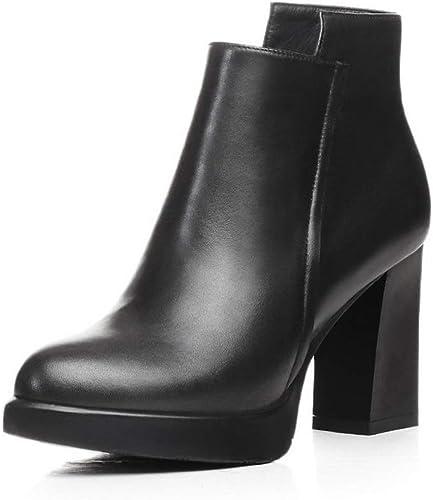 AdeeSu SXE04586, Sandales Compensées Femme - Noir - Noir, 36.5