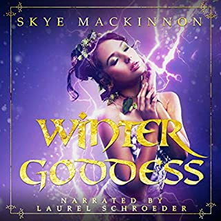 Winter Goddess: A reverse harem romance audiobook cover art