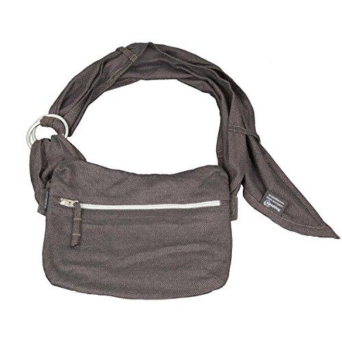 Hoppediz Tas-h-lon-gra Hip Bag London, grau-schwarz