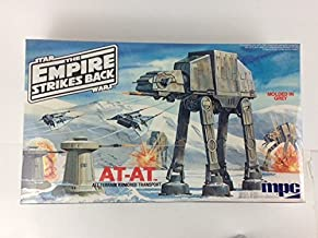 AT-AT Walker & Hoth Laser Turrets & Snowspeeders Scene Vintage 1981 Model Kit