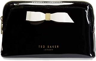 Women's Cahira Bow Detail Makeup Bag (Black)