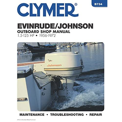 Johnson Outboard Repair Manual: Amazon.com on