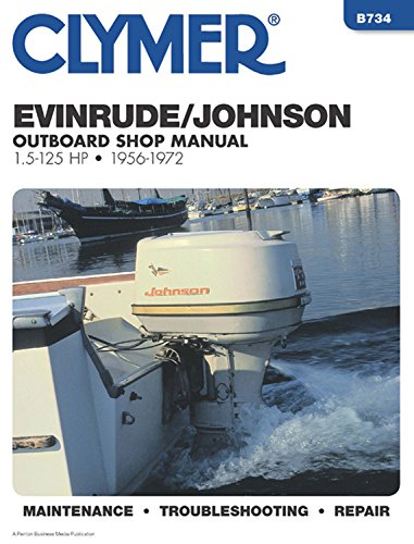 evinrude johnson outboard shop manual 1 5 to 125 hp 1956 johnson evinrude service manuals