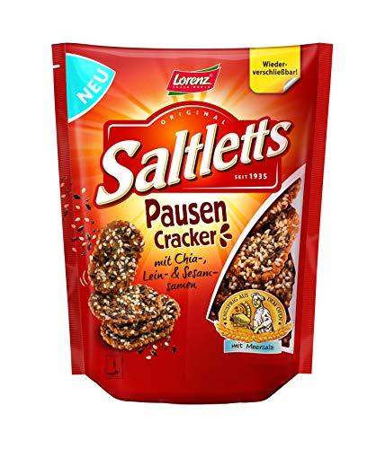 Lorenz Snack World Saltletts Pausen Cracker, 16er Pack (16 x 100 g)