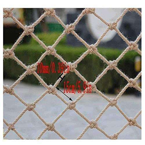 STTHOME Child Safety Net Protection Climbing Frames Child safety net, Decorative ceiling netting Staircase balcony anti-fall net Mall isolation network Playground climbing nets, Rope diameter 10mm