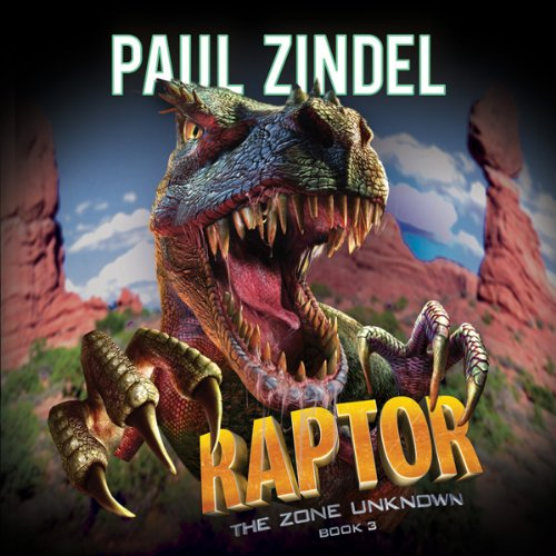 Raptor audiobook cover art