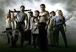 The Walking Dead Season One Cast Autograph Replica Poster