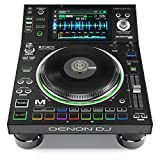 "Denon DJ SC5000M | Professional DJ Media Player with Motorised Platter, 7"" Multi-Touch D..."