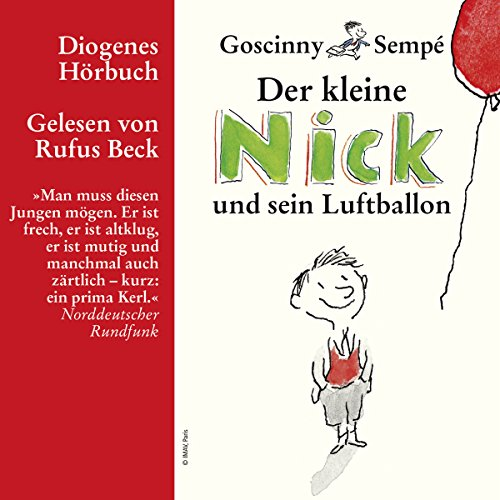 Der kleine Nick und sein Luftballon cover art