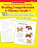 Week-by-Week Homework for Building Reading Comprehension & Fluency: Grade 1 (Week-by-Week Homework For Building Reading Comprehension and Fluency)