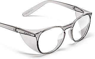 Stoggles - رسمي - جولة - Z87. نظارات أمان معتمدة Z87. 1 - مضادة للضباب - حجب الضوء الأزرق