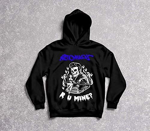 Moletom Masculino Arctic Monkeys R U Mine? Tamanho:P;Cor:Preto