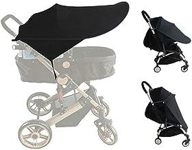 auvstar Funda para Cochecito de Bebé,Toldo Protector Solar Universal para Cochecitos Capazos Carrito de Bebé Sillas de Paseo Sombrilla Parasol Protección UV