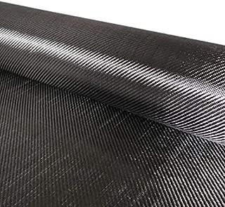 Black Carbon Fiber Cloth Fabric 200g 19.5
